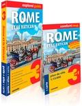 Express Map - Rome et le Vatican.