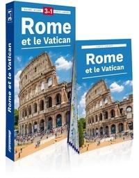 Express Map - Rome et le Vatican - Guide + Atlas + Carte.