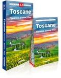 Express Map - Toscane - Florence, Sienne, Pise. Guide + atlas + carte.