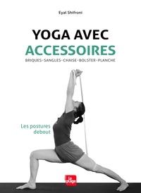 Birrascarampola.it Yoga avec accessoires. Les postures debout - Briques, sangles, chaise, bolster, planche Image