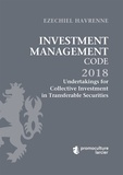 Ezechiel Havrenne - Investment Management Code - Tome 3, Undertakings for Collective Investment in Transferable Securities.