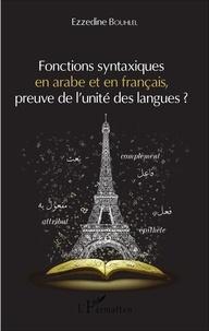 Fonctions syntaxiques en arabe et en français, preuve de lunité des langues ?.pdf