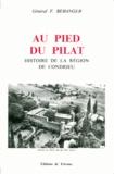 F Beranger - Au pied du Pilat - Histoire de la région de Condrieu.