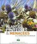 F Duhamel et Frédéric Hendoux - Plantes protégées et menacées de la region Nord Pas de Calais.