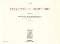 Exercices de géométrie - Comprenant Lexposé des méthodes géométriques et 2000 questions résolues.pdf