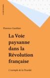 F Gauthier - La Voie paysanne dans la Révolution française - L'exemple de la Picardie.