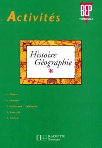 F Guillerand-Faidherbe et  Collectif - Histoire-géographie, BEP-terminale.