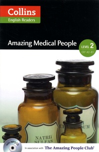 F-H Cornish - Amazing Medical People - Level 2 CEF A2-B1. 1 CD audio MP3