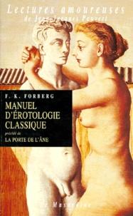 F-K Forberg - Manuel d'érotologie classique.