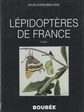 F. Le Cerf - Atlas des Lépidoptères de France - Tome 1: Rhopalocères.