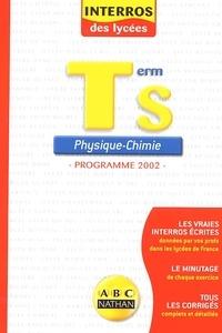 F Masset - Physique-Chimie Terminale S - Programme 2002.