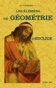 Téléchargement gratuit d'ebook epub Les éléments de géométrie d'Euclide en francais