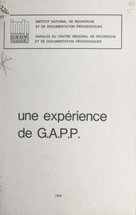 F. Samier et Bernard Dassonville - Une expérience de G.A.P.P..