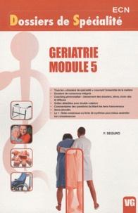 F. Seguro - Geriatrie module 5.