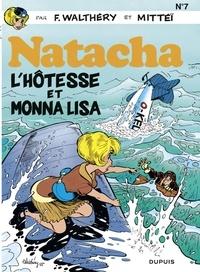 F. Walthéry et  Mittéï - Natacha - tome 7 - L'Hôtesse et Monna Lisa.