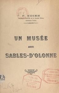 F. Ydier - Un musée aux Sables-d'Olonne.