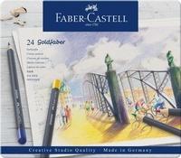 FABER CASTELL - Crayons de couleur Goldfaber / 24