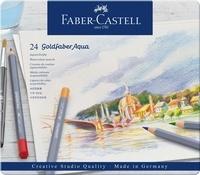 FABER CASTELL - Crayons de couleur Goldfaber Aqua / 24