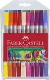 FABER CASTELL - Feutres à double pointe Faber-Castell x20
