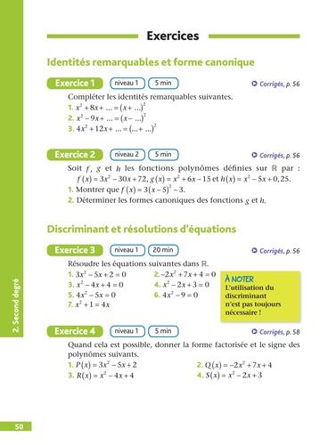 Spécialité Maths 1re. Pour réussir le jour J