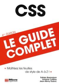 Fabien Basmaison et Antoine Cailliau - CSS - Le guide complet.