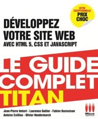 Deedr.fr Développez votre site web HTML 5, CSS 3, JavaScript Image