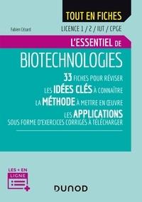 Fabien Cézard - Biotechnologies - Licence 1/2/IUT/CPGE.