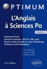 Fabien Fichaux - L'anglais à Sciences Po.