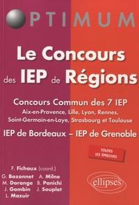 Fabien Fichaux - Le concours des IEP de Régions.