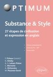 Fabien Fichaux - Substance & Style - 27 étapes de civilisation et expression en anglais.