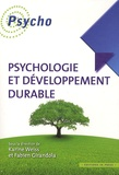 Fabien Girandola et Karine Weiss - Psychologie et développement durable.
