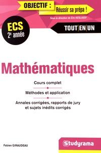 Fabien Giraudeau - Mathématiques ECS 2e année.