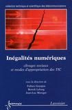 Fabien Granjon et Benoît Lelong - Inégalités numériques - Clivages sociaux et modes d'appropriation des TIC.