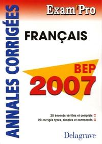 Histoiresdenlire.be Français BEP - Annales corrigées Image