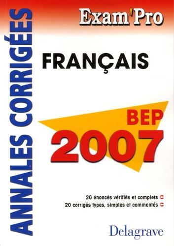 Fabien Gruel - Français BEP - Annales corrigées.