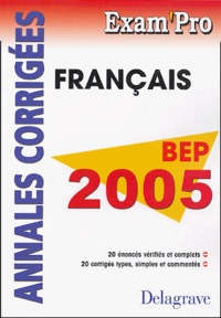 Français BEP - Annales corrigés.pdf