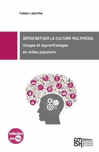 Fabien Labarthe - Démocratiser la culture multimédia ? - Usages et apprentissages en milieu populaire.