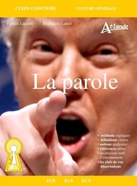Fabien Lacoste et Bénédicte Lanot - La parole.