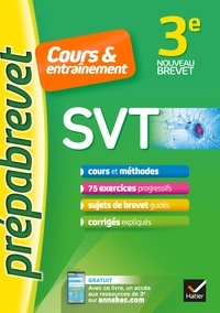 Fabien Madoz-Bonnot - SVT 3e - Prépabrevet Cours & entraînement - cours, méthodes et exercices progressifs.