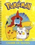 Fabien Molina - Cahier de textes Pokémon.