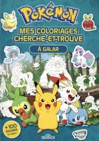 Fabien Molina - Pokémon. Mes coloriages cherche-et-trouve à Galar.