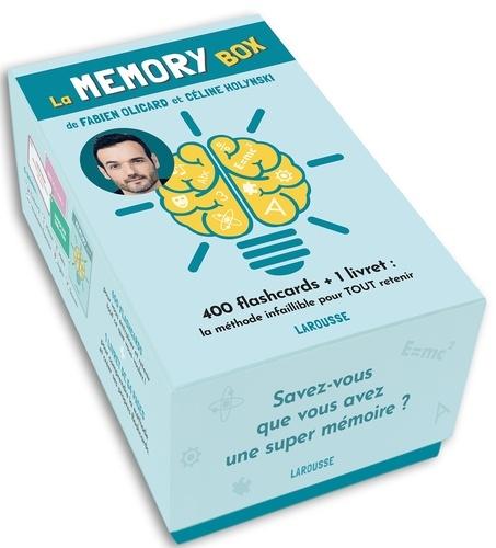 La memory box. 400 flashcards + 1 livret : la méthode infaillible pour TOUT retenir