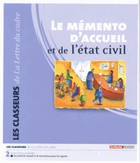 Fabien Ponthieux - Le mémento d'accueil et de l'état civil.