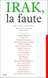 Fabien Voyer et  Collectif - Irak, la faute.