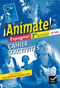 Deedr.fr Espagnol 1re année Animate! - Cahier d'activités Image