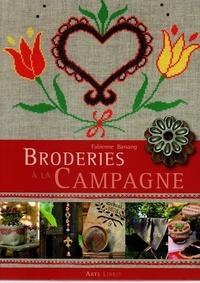 Fabienne Bassang - Broderies à la campagne.