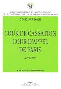 Jurisprudence de la Cour dappel de Paris (1ère Chambre, Section concurrence) et de la Cour de cassation (Chambre commerciale).pdf