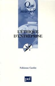 Fabienne Cardot - L'éthique d'entreprise.