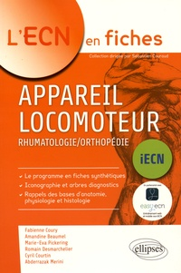 Fabienne Coury et Amandine Beaumel - Appareil locomoteur - Rhumatologie/orthopédie.
