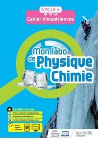 Fabienne Donadei et Eric Donadei - Mon labo de Physique-Chimie Cycle 4 - Cahier d'expériences.